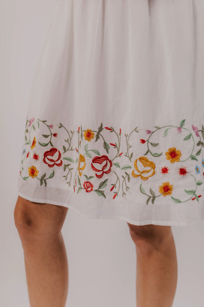 Women's Embroidered Dress for Summer | ROOLEE