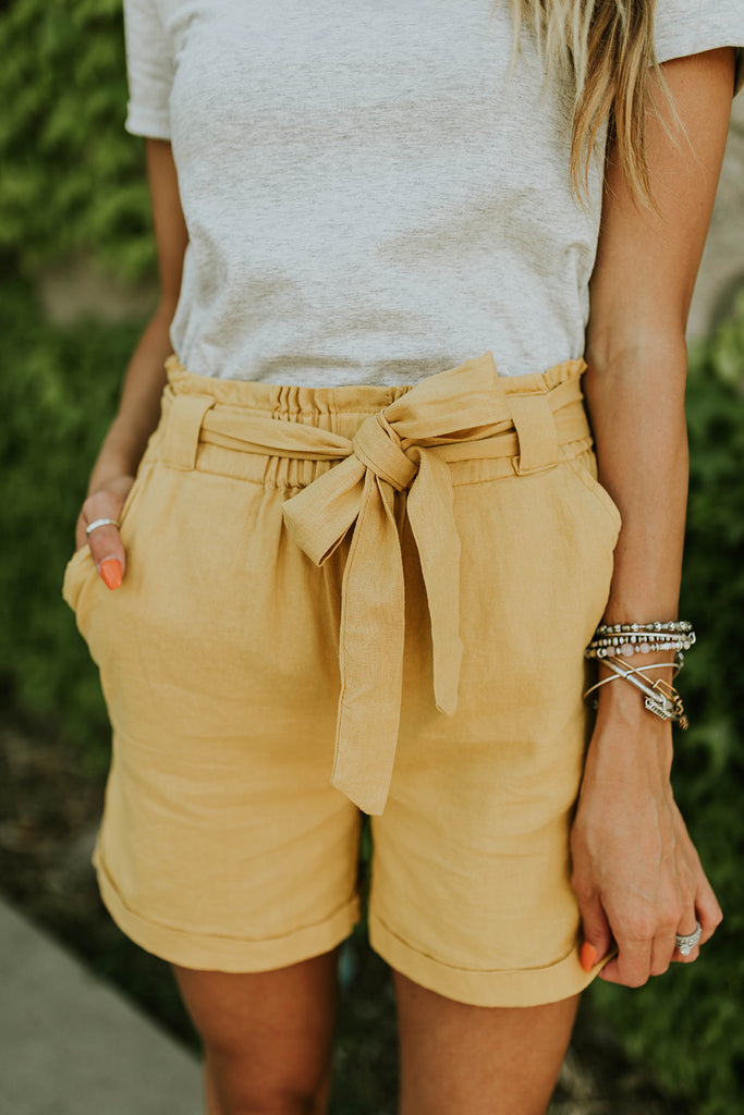Makenna High Rise Shorts | ROOLEE Bottoms