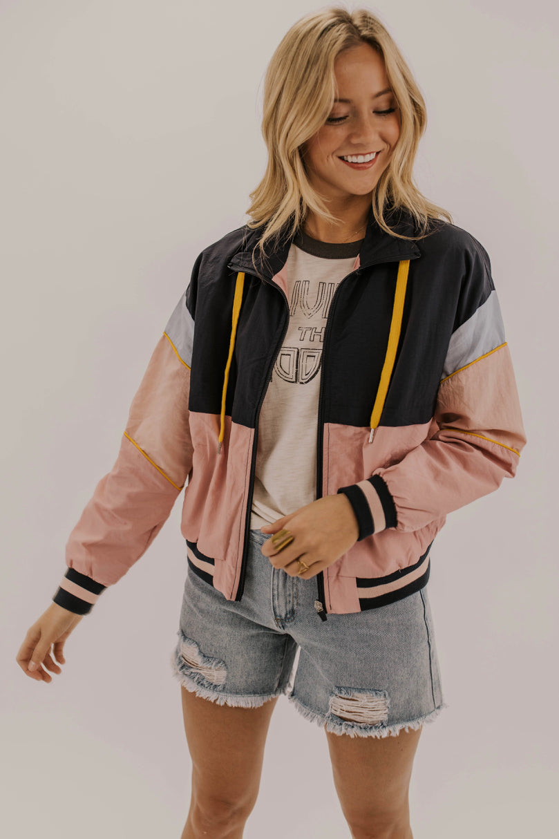 Pink and blue jackets | ROOLEE