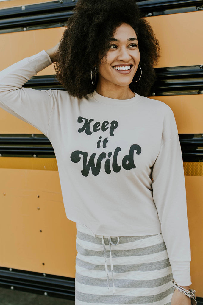 'Keep it Wild' Slouch Tee | ROOLEE