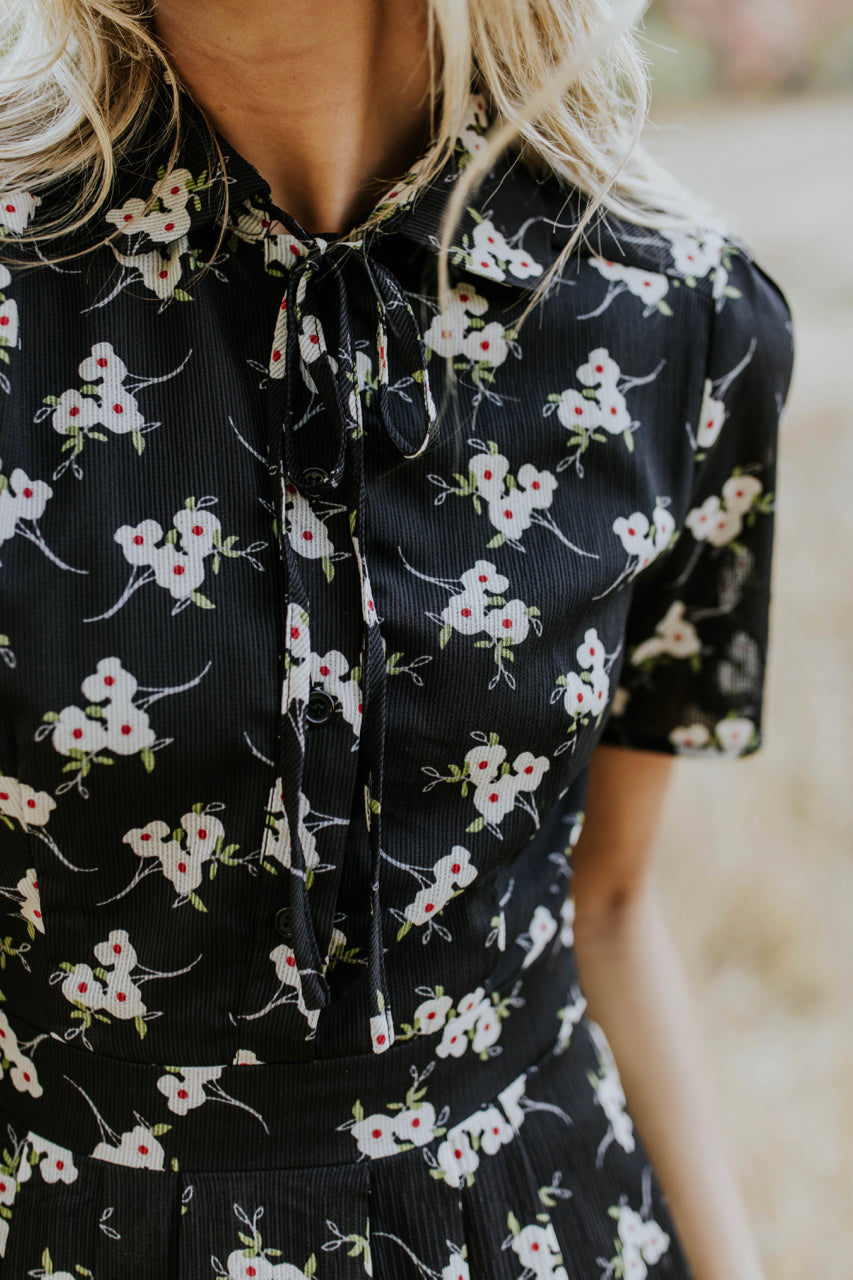 Floral Button Up Dress | ROOLEE