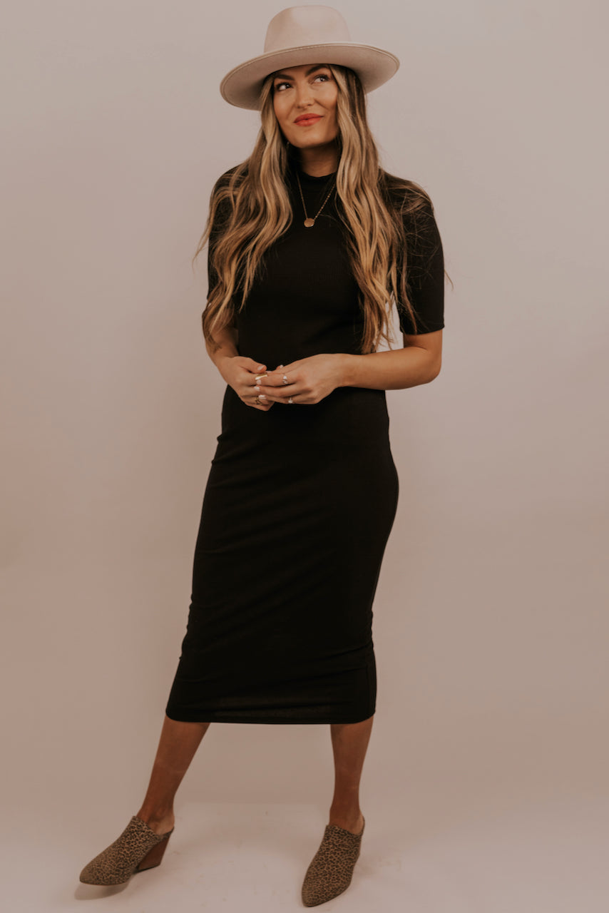 Simple Midi Dress | ROOLEE