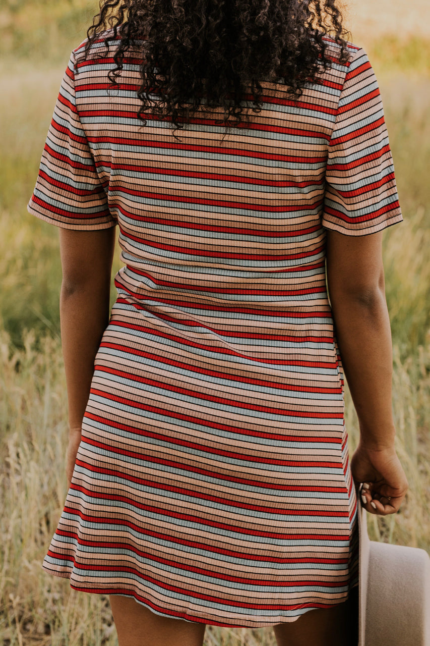 Casual Stripe Dress | ROOLEE
