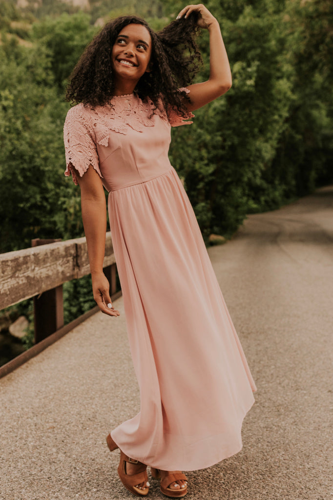 Blush Bridesmaid Dress | ROOLEE