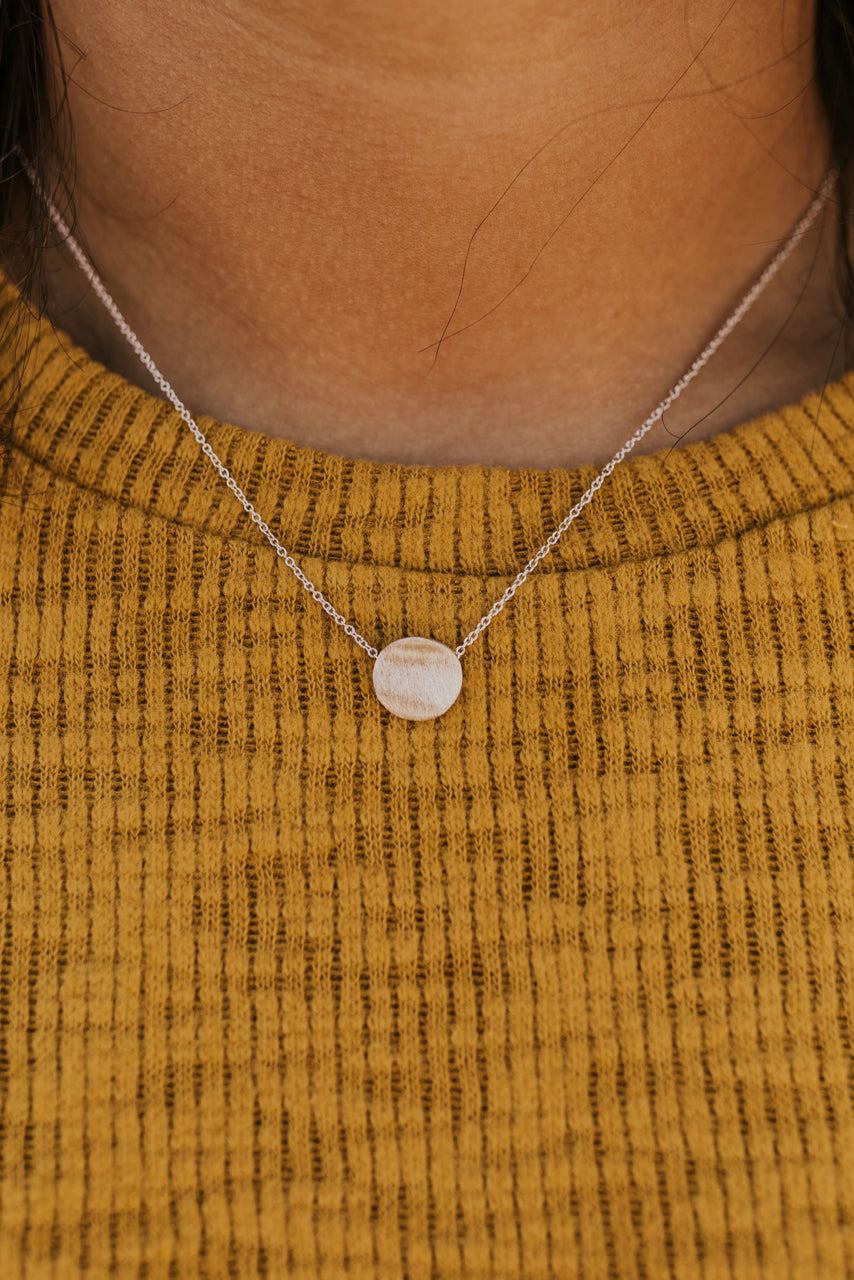 Pendant Coin Necklace