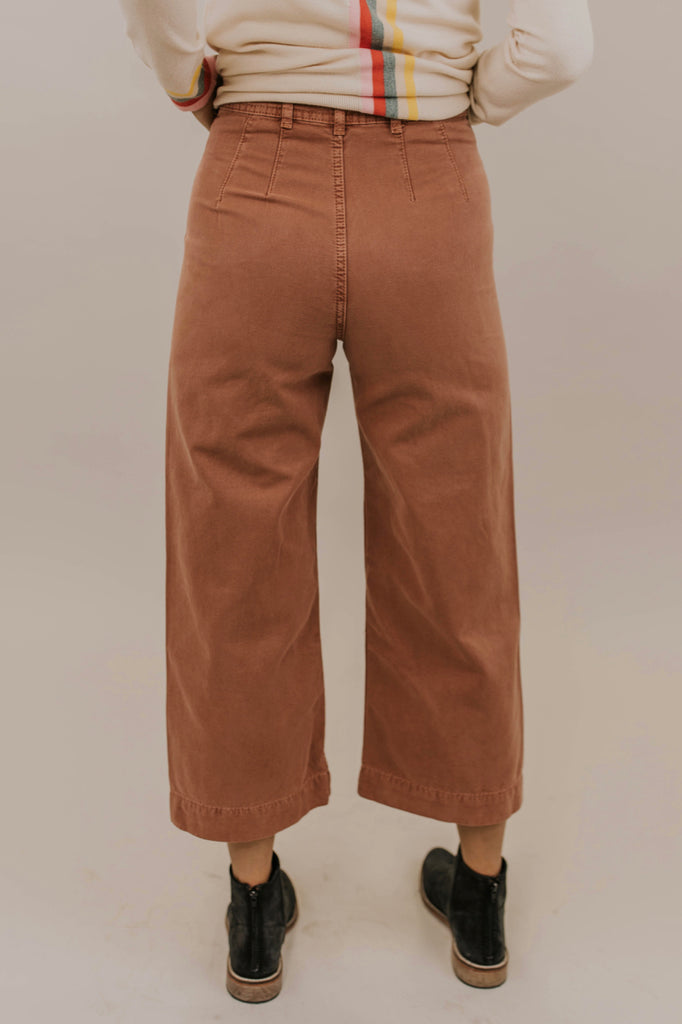 Rust Colored Jeans | ROOLEE