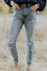 Light Wash Skinny Jeans For Women | ROOLEE