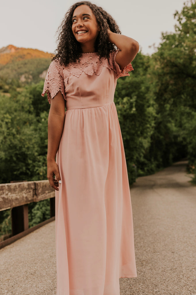 Modest Bridesmaid Dress | ROOLEE