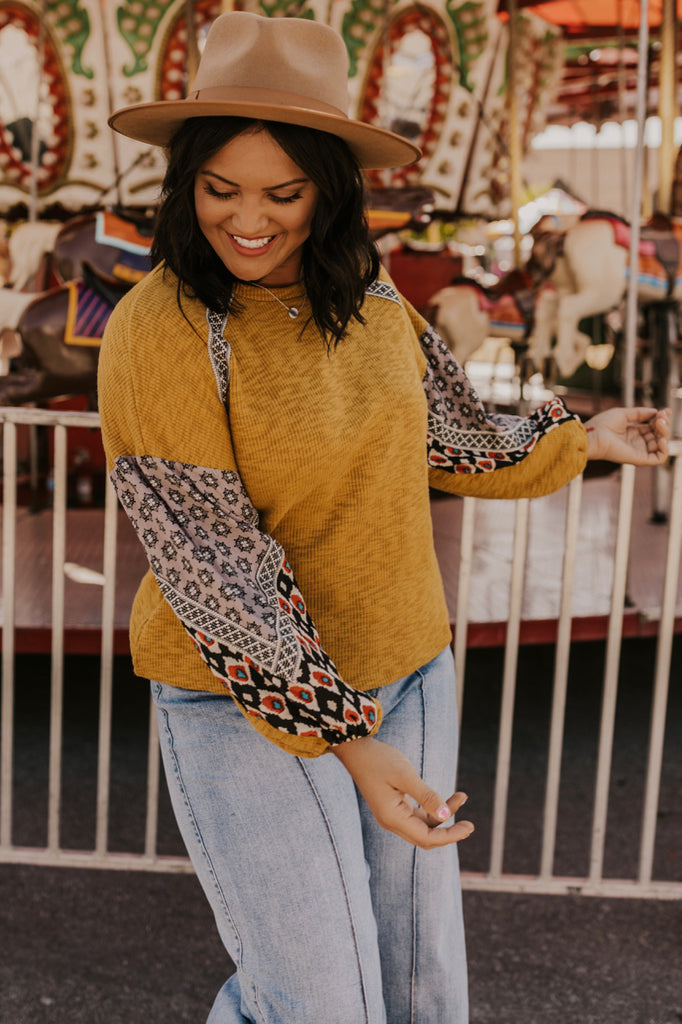 Patterned Sweater | ROOLEE