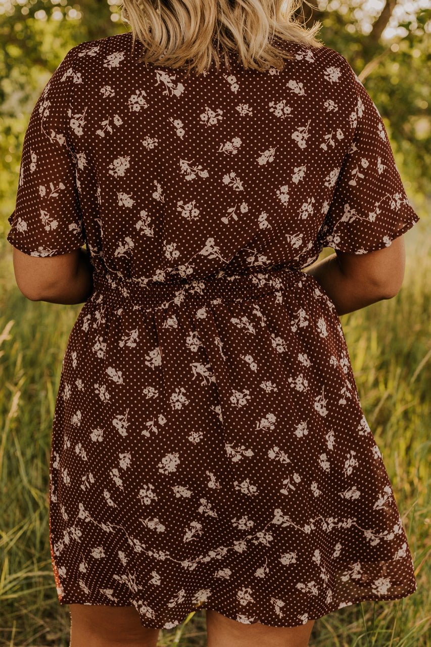 Fall Brown Dress | ROOLEE