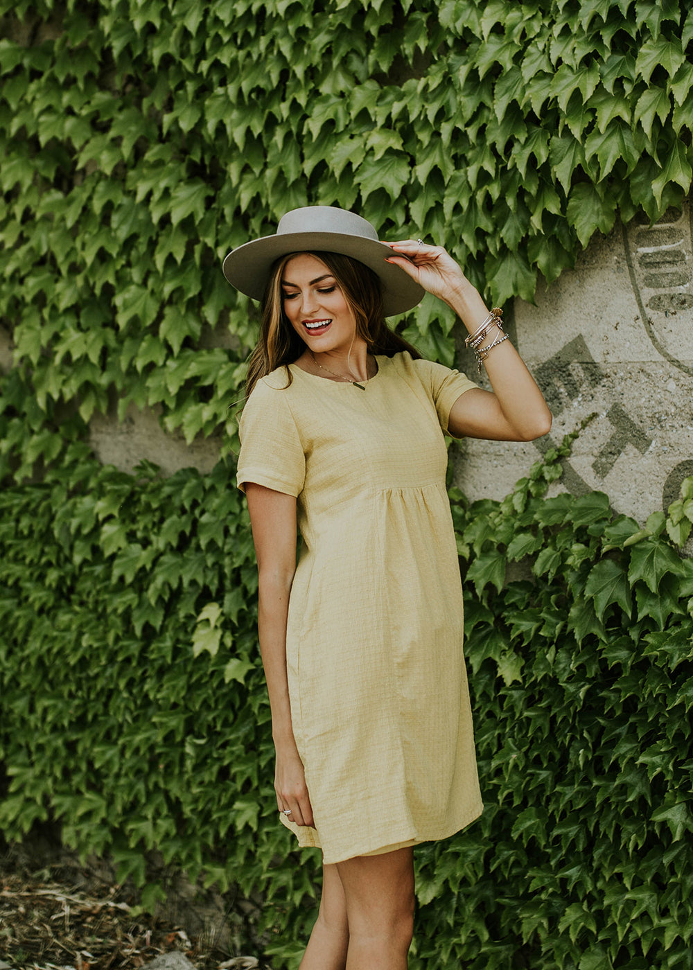 Vibrant Yellow Dress | ROOLEE