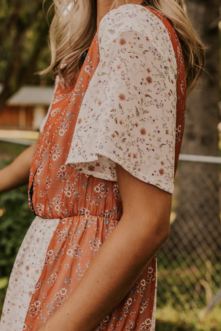 Loose Floral Dress | ROOLEE