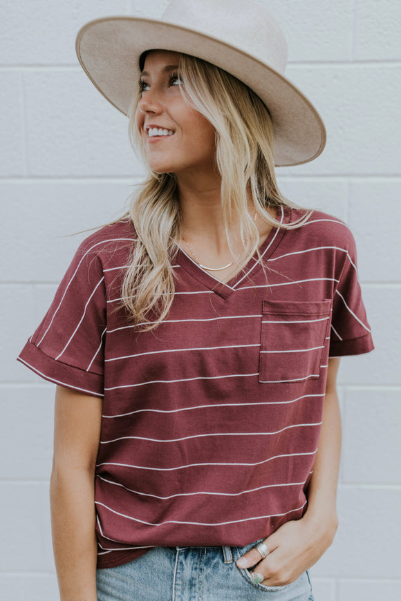 Your Go-To Stripe Tee | ROOLEE