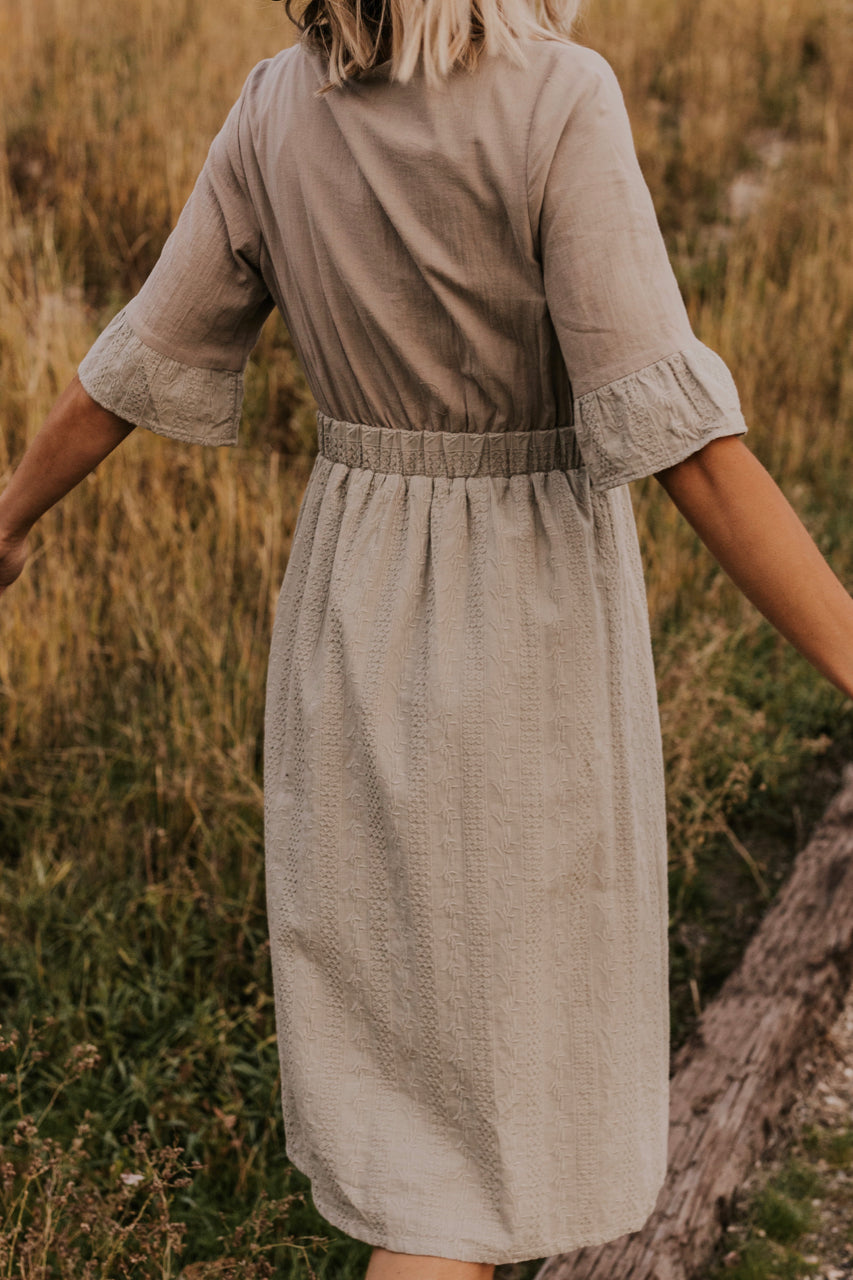 Sage Midi Dress | ROOLEE