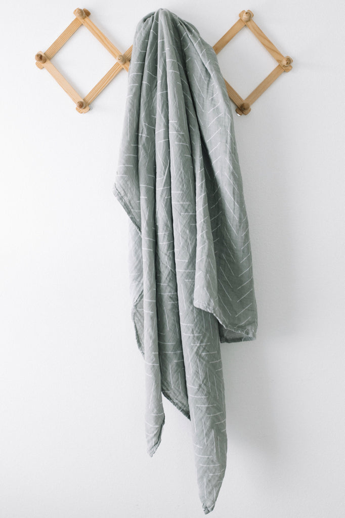 Sage Green Swaddle | ROOLEE