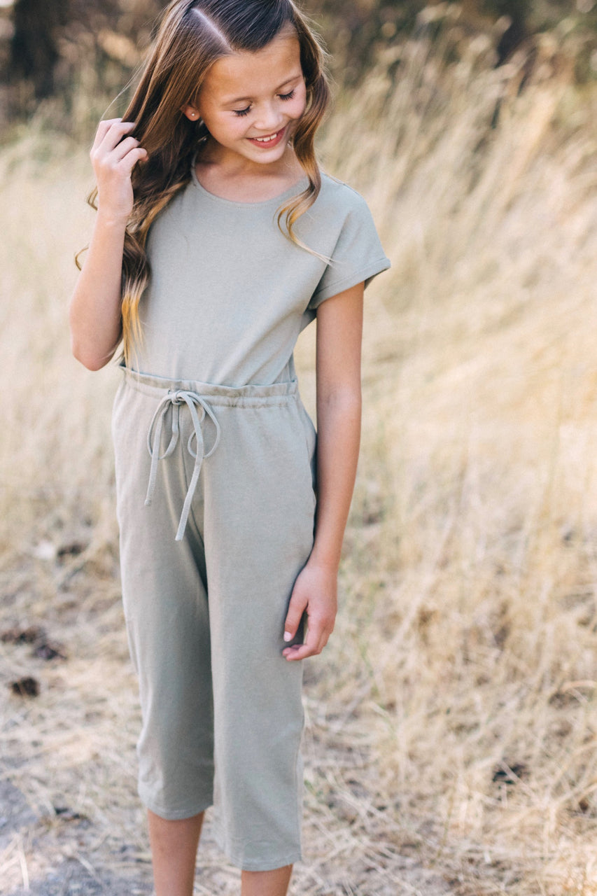 Short Sleeve Comfy One Piece For Girls | ROOLEE