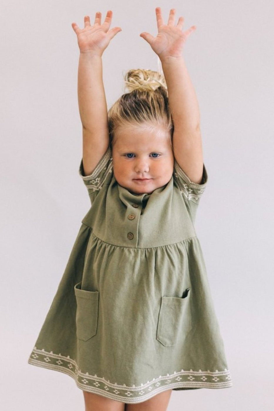 Huntley Detail Dress | ROOLEE Kids