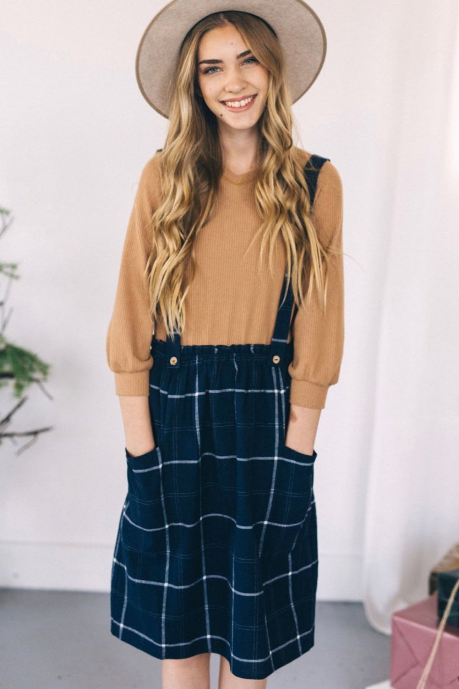 Marano Plaid Jumper | ROOLEE Kids
