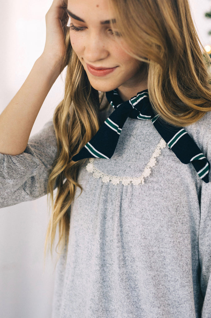 Mini Astrid Detail Top | ROOLEE Kids