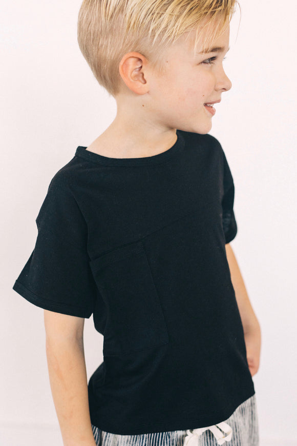 Keegan Pocket Tee | ROOLEE Kids