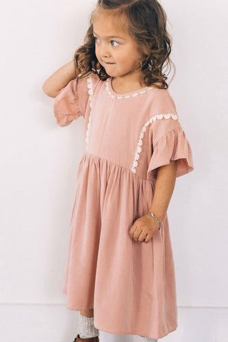 Elowen Detail Dress | ROOLEE Kids
