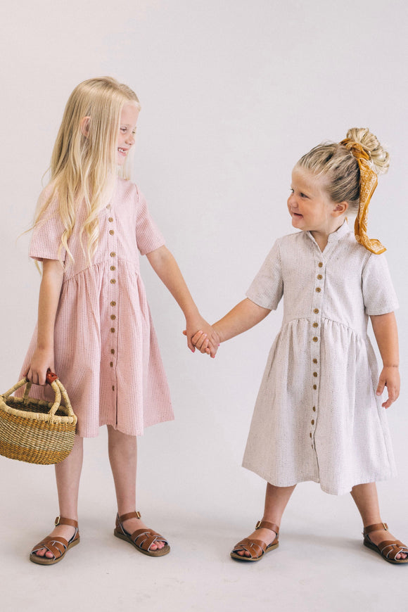 Mini Clements Woven Dress | ROOLEE Kids