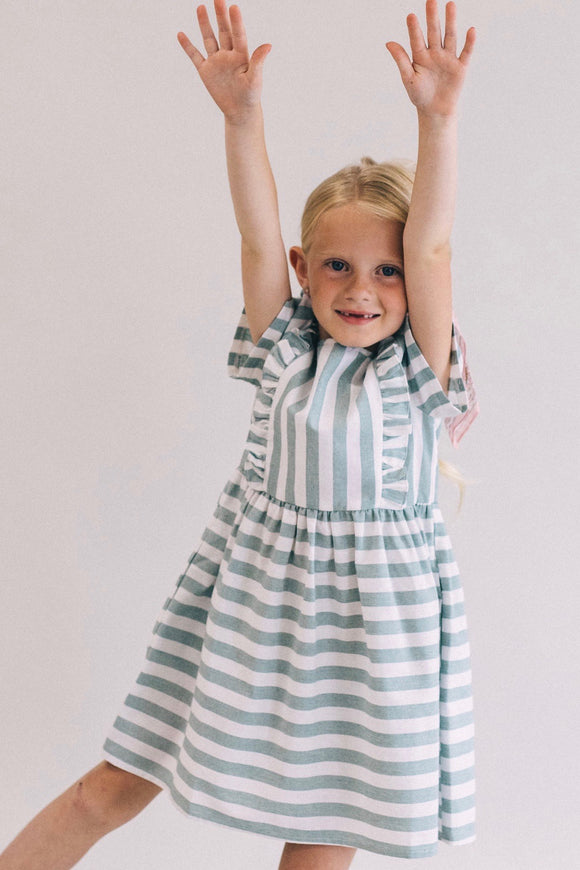Julia Stripe Dress | ROOLEE Kids