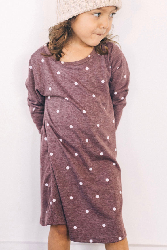 Cherry Hills Polka Dot Dress | ROOLEE Kids