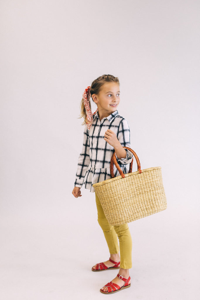 Long Sleeve Blouse For Girls | ROOLEE Kids