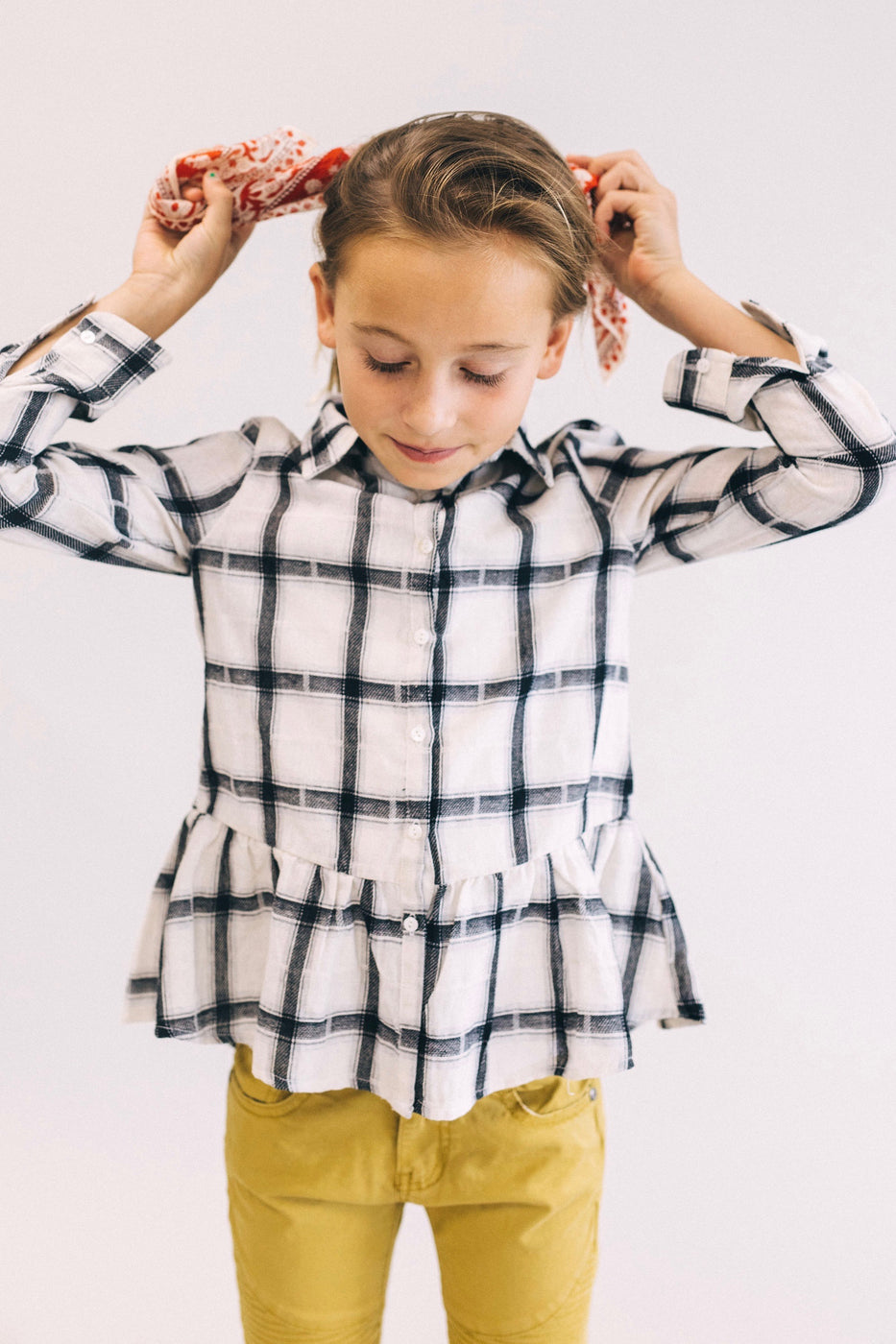 School's Out Peplum | ROOLEE