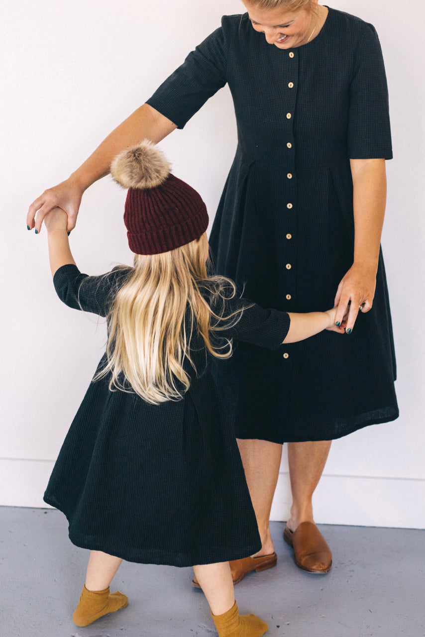 Mommy and Me Plaid Dress | ROOLEE Kids