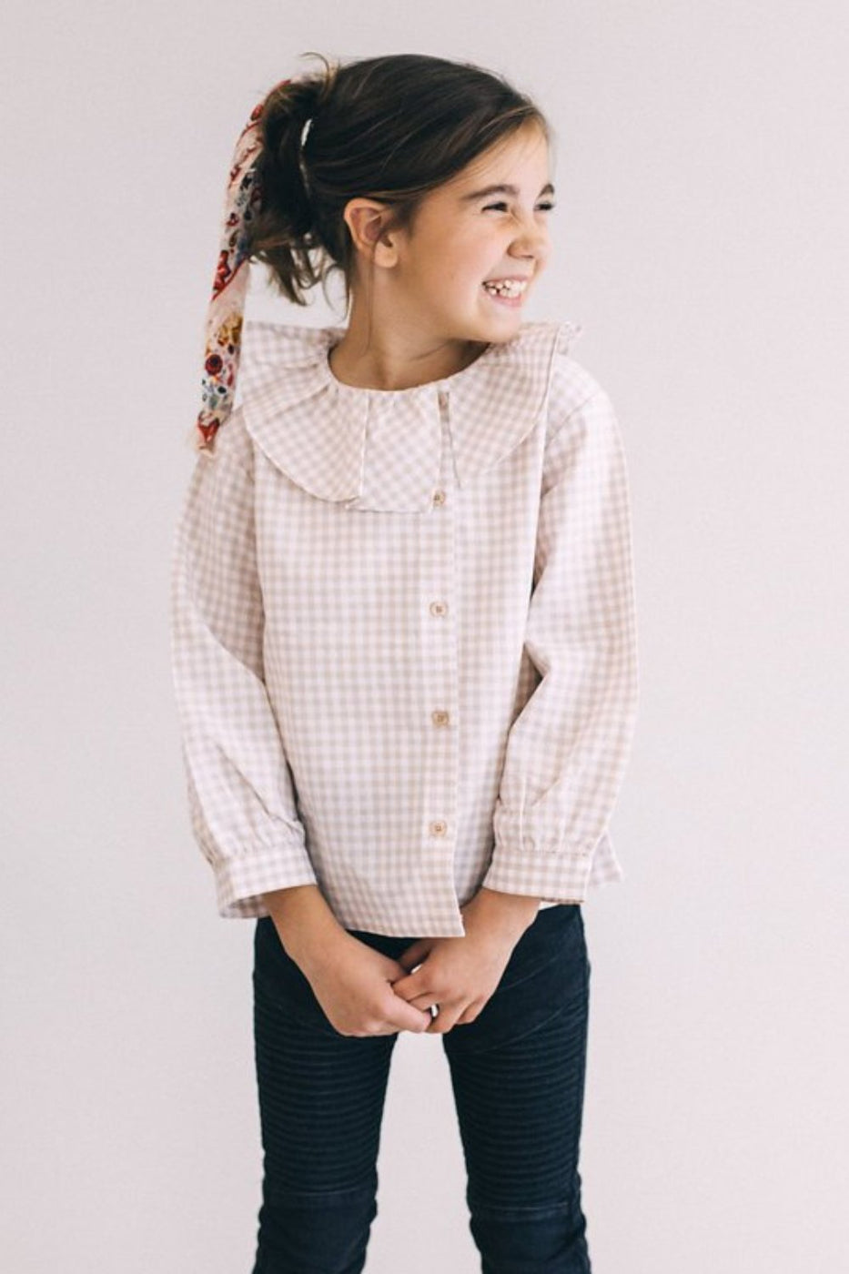 Cute As A Button Blouse | ROOLEE Kids