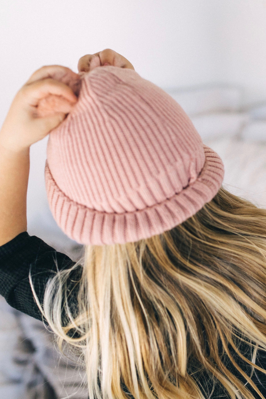 The Grace Double Pom Beanie | ROOLEE Kids