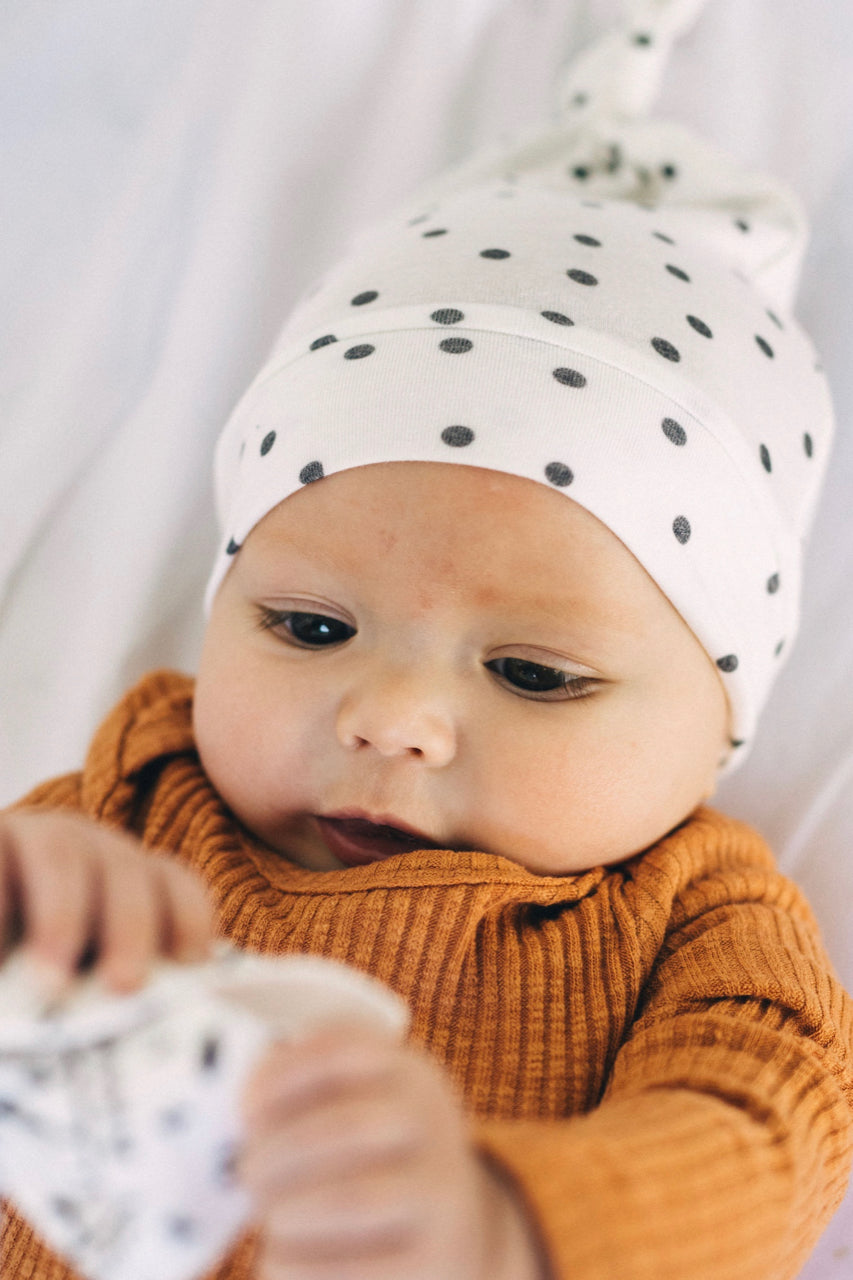 Baby Top Knot Hat | ROOLEE Kids