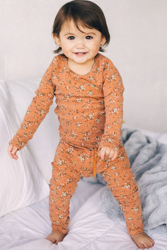 Cozy Floral Pajama Set For Kids | ROOLEE Kids