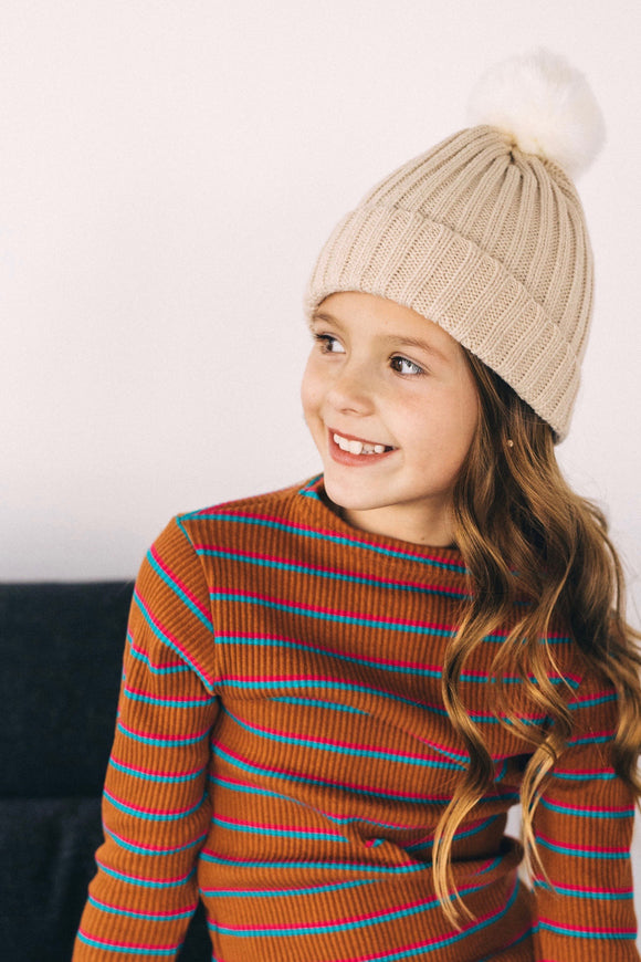 Kids Knit Beanie for Winter | ROOLEE Kids