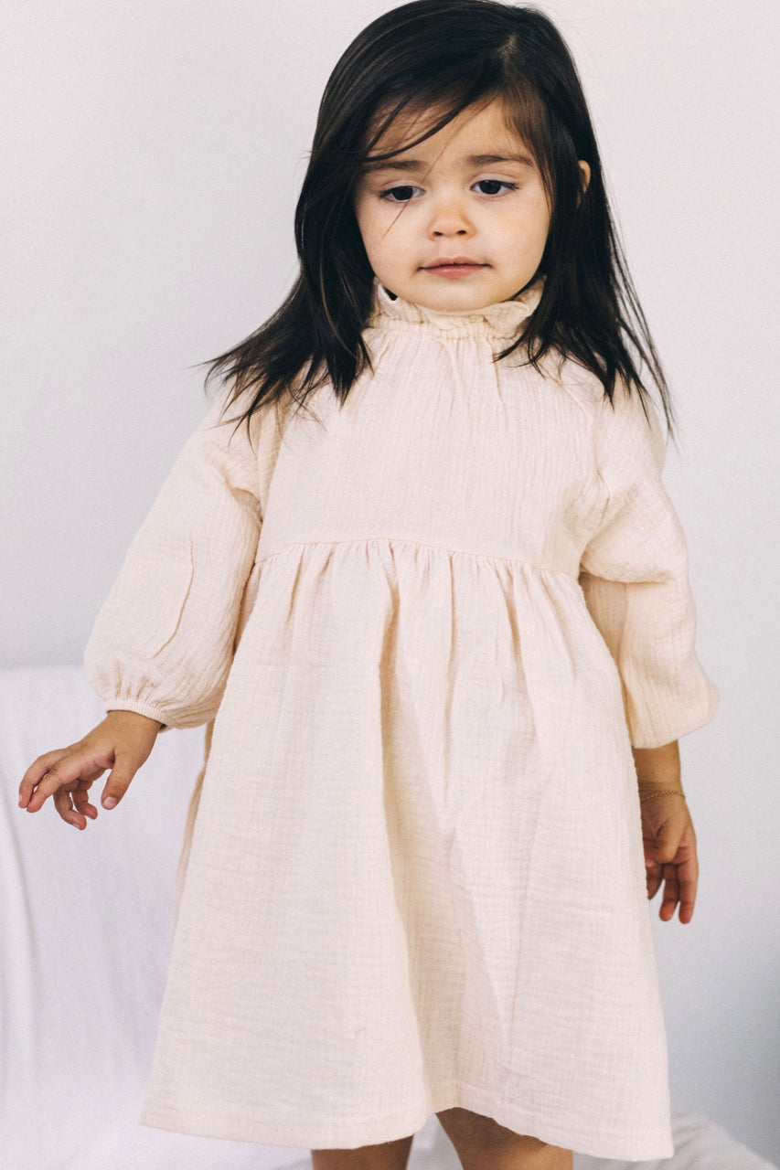 Angelica Ruffle Dress | ROOLEE Kids