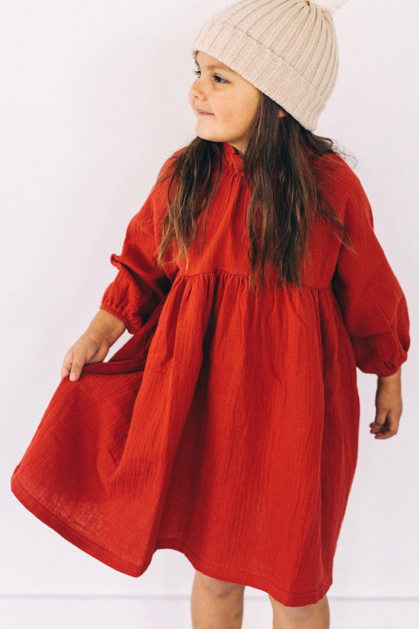 Kids Smock Dress | ROOLEE Kids