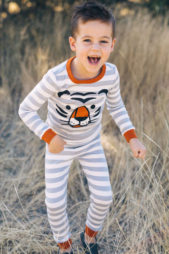 Tiger Stripe Pajamas | ROOLEE Kids