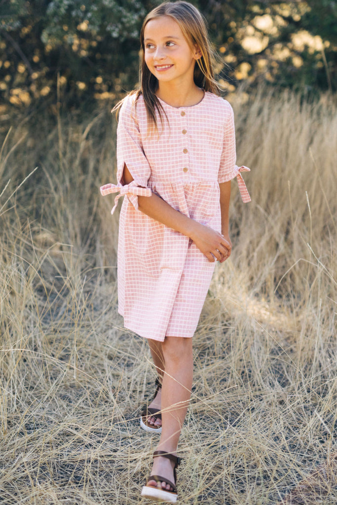 Mini Sanders Plaid Dress