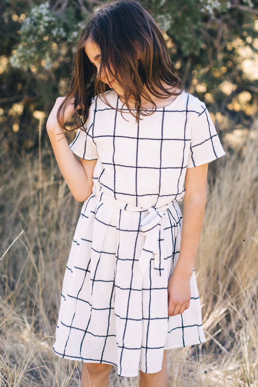 Mini Harper Plaid Dress