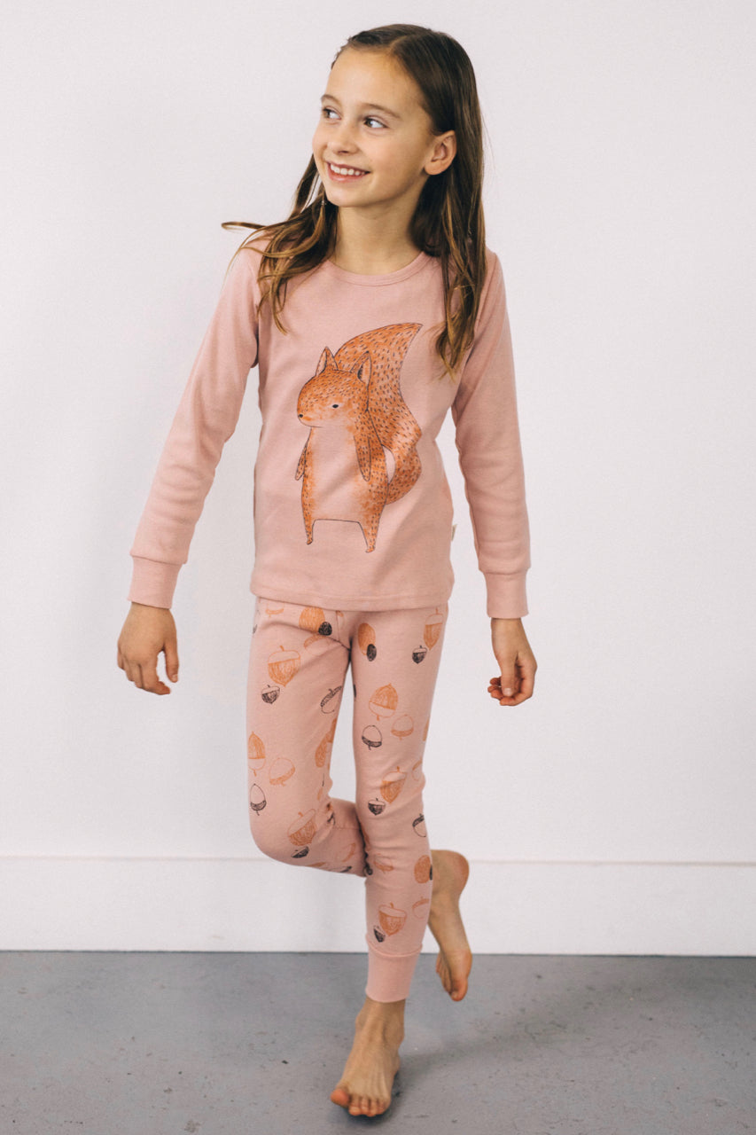 Little Squirrel Pajama Set