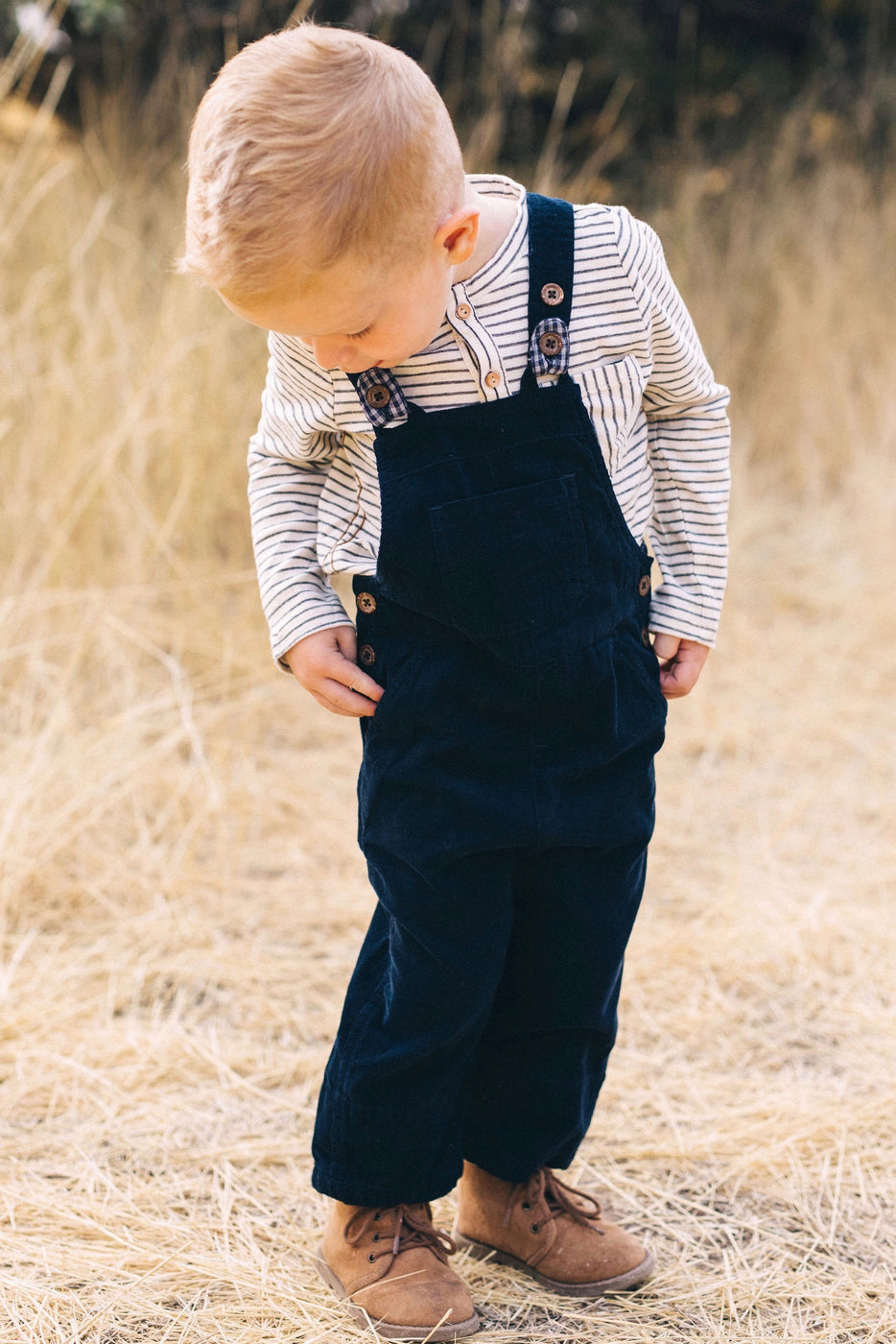 Me & Henry Striped Henley Shirt | ROOLEE Kids
