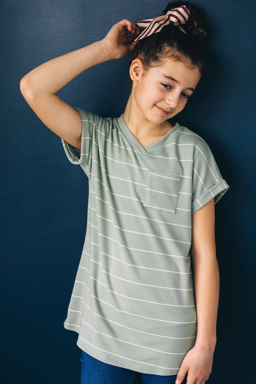 Mini Susie Stripe Tee