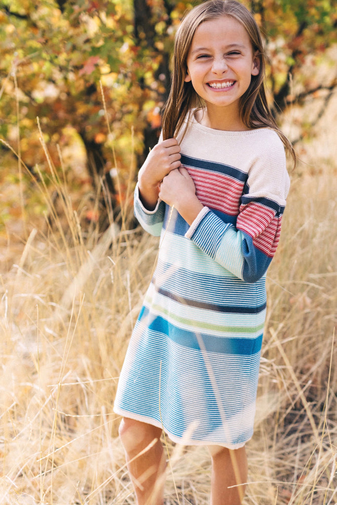 Maryn Sweater Dress | ROOLEE Kids