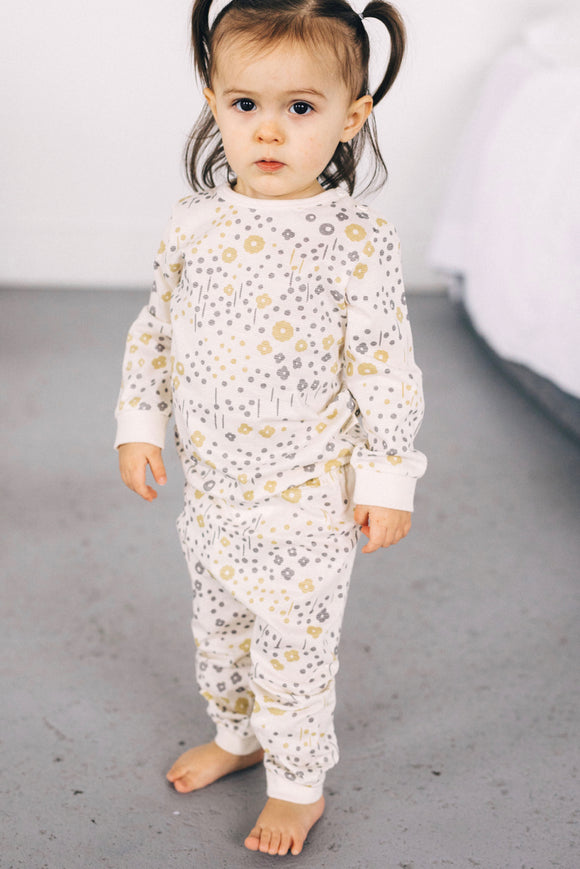 Little Flower Pajama Set