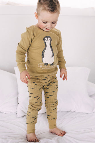 Ice Penguin Pajama Set