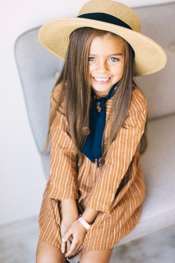 Stripe Pocket Dress | ROOLEE Kids