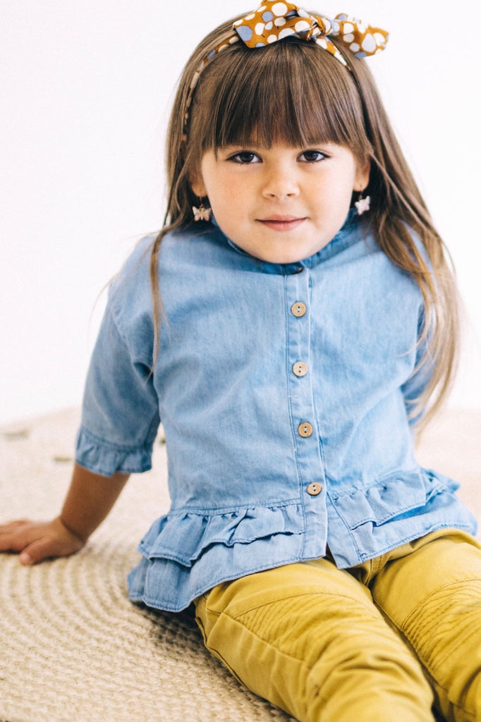 Sheridan Denim Button Up | ROOLEE Kids