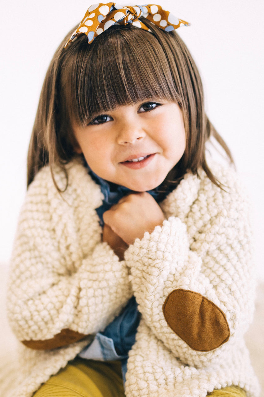 Morning Cuddles Patch Jacket | ROOLEE Kids